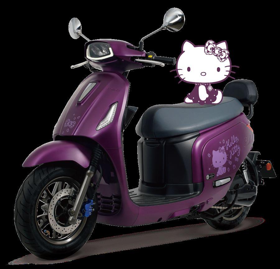 PGO推出全球第一台限定Hello Kitty聯名電動車款