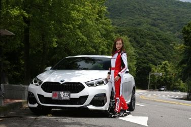 雙面情人,宜動宜靜 Iris與全新BMW 218i Gran Coupé M Sport的初邂逅