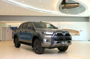 變臉、加大馬力 小改款Toyota Hilux