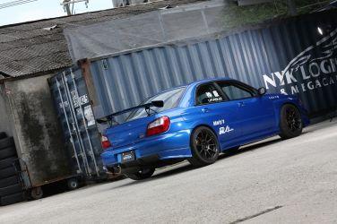 Subaru Impreza WRX STI (GDB-A) (下) 從零開始重新打造競技式樣