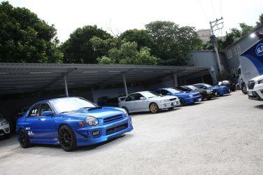 Subaru Impreza WRX STI (GDB-A) (上) 從零開始重新打造競技式樣