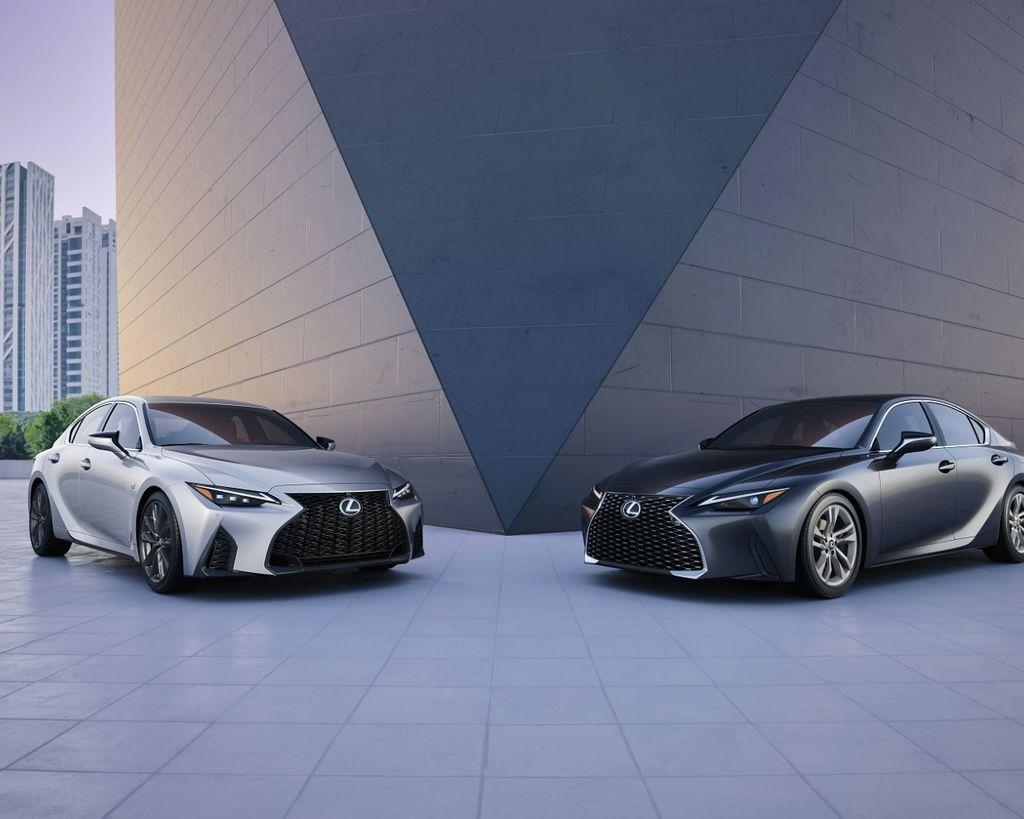 不只是Facelift 2021 Lexus IS