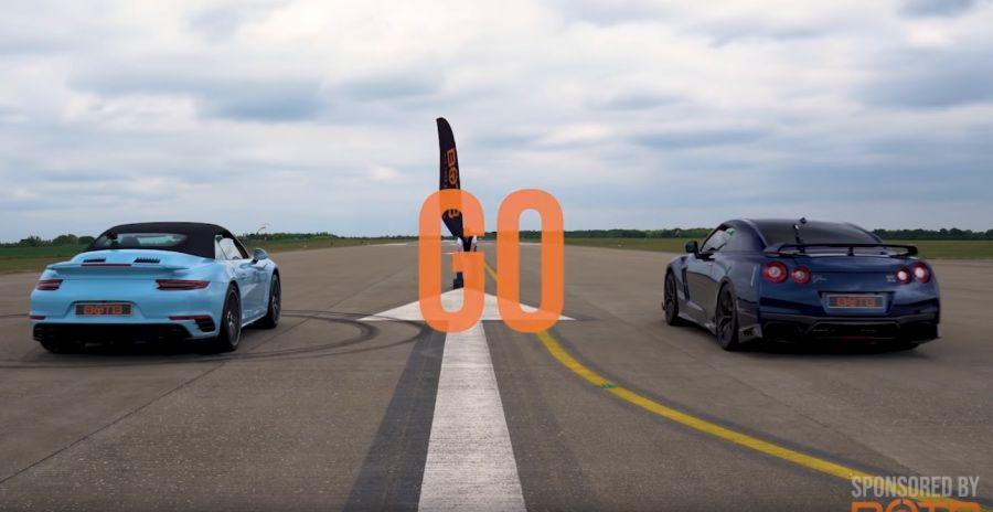 影/Porsche 911秒殺Nissan GT-R的神秘按鍵!