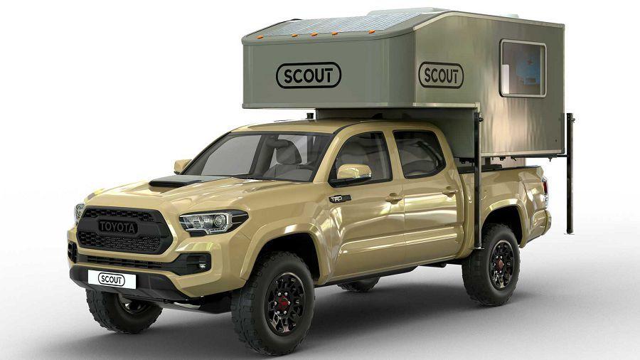 Scout Camper推出輕量化露營殼Yoho讓小型貨卡也可輕鬆露營去