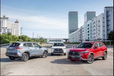 國產小型跨界SUV王者駕到!全新Toyota Corolla Cross泰國全球首演