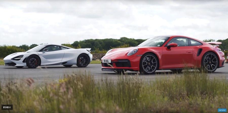 影/新Porsche 911 Turbo S猛到可以單挑McLaren 720S?