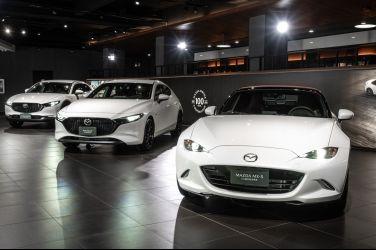 MAZDA 100週年紀念車款正式在台上市