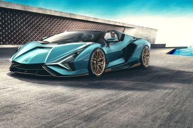 無頂篷更加稀有! Lamborghini Sian Roadster