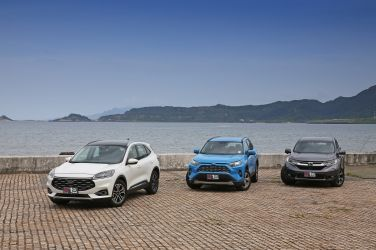 盟主爭霸戰(上) Ford Kuga 180 vs.Toyota RAV4 2.0 vs. Honda CR-V 1.5 VTi-S