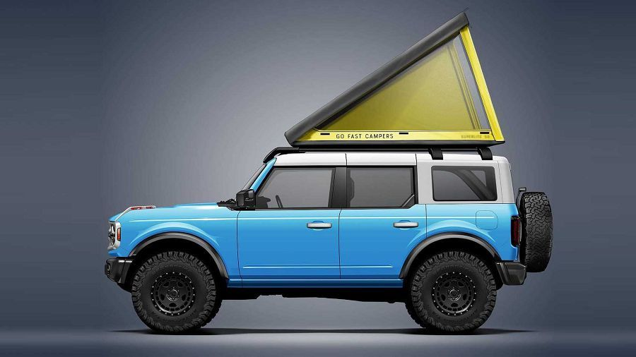 Go Fast Campers推出超輕量車頂式帳棚SuperLite