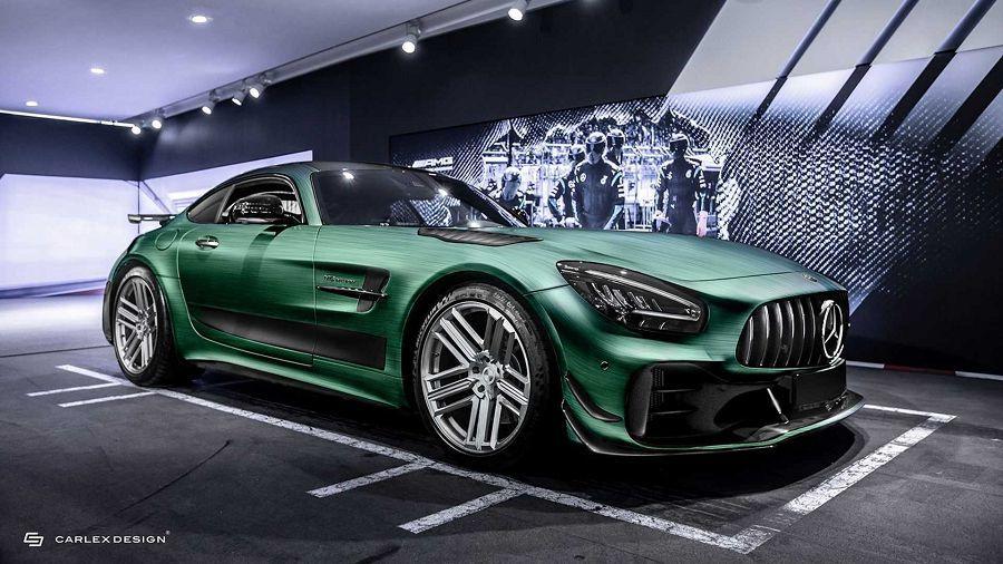 Carlex Design讓Mercedes-AMG GT R Pro的內裝充滿了「金屬搖滾」風味
