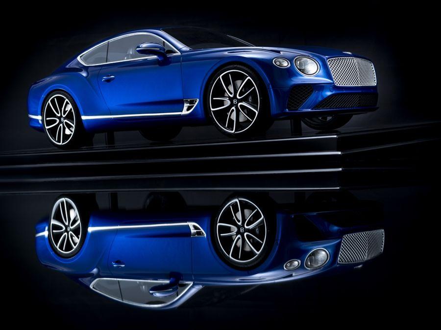 Bentley 推出可客製化CONTENTAL GT模型車