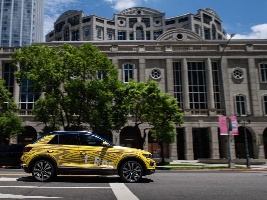 VW T-Roc測試車無預警現蹤台北信義區!