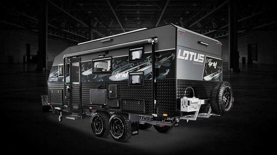 2020 Lotus Caravans Off Grid可作為現代豪華越野露營風的典範