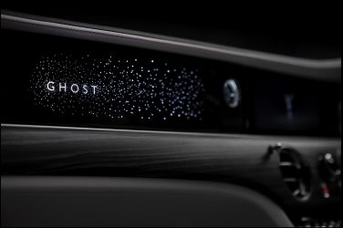 9/1全球發表 預先展露自發光飾板 Rolls-Royce New Ghost