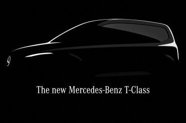 新小型家用廂型車預告 Mercedes-Benz T-Class