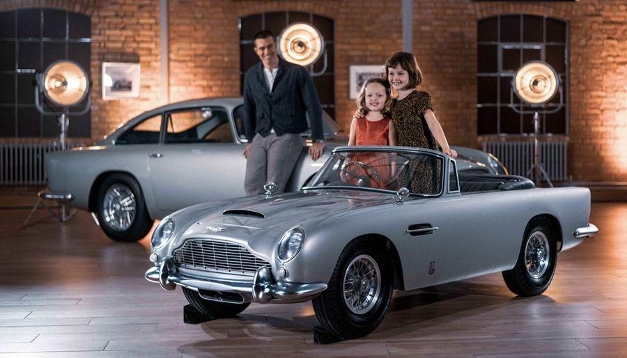連玩具都要有品味!Aston Martin DB5 Junior登場