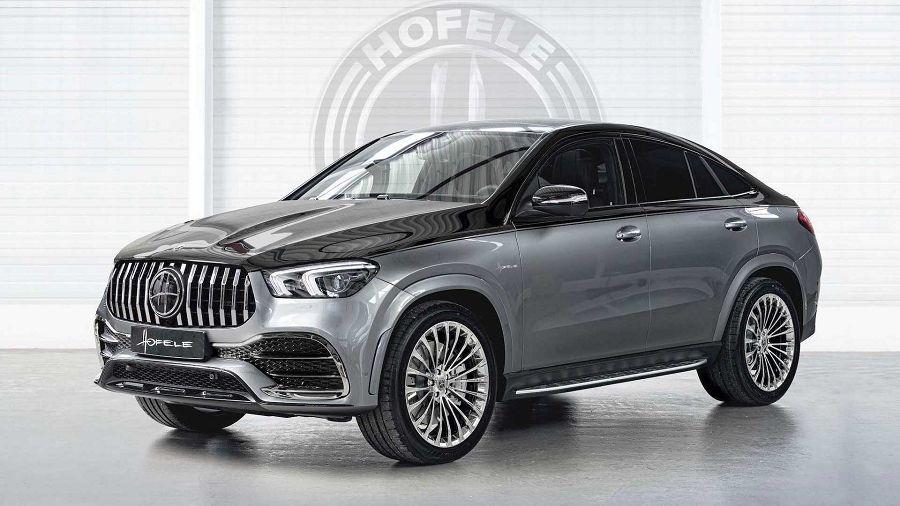 Hofele讓Mercedes GLE Coupe更加獨特、尊貴
