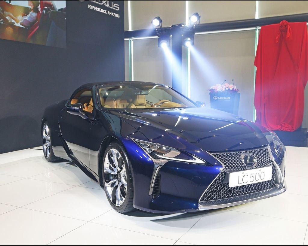 超性感敞篷跑車 Lexus LC Convertible
