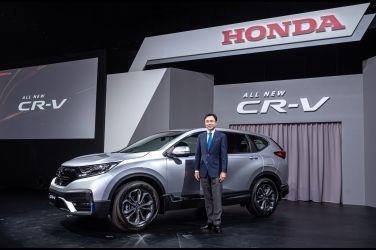 Honda CR-V微整加料 保位戰再一波