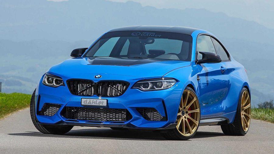 Dähler賦予BMW M2 CS新輪圈與更強的動力