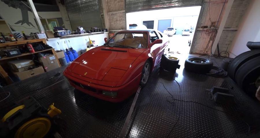 影/30年的Ferrari 348還剩幾匹馬力?