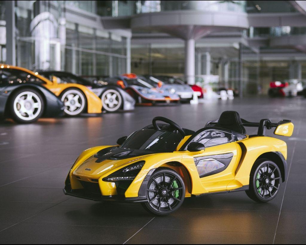 兒童電動超跑開賣!McLaren Senna Ride-On