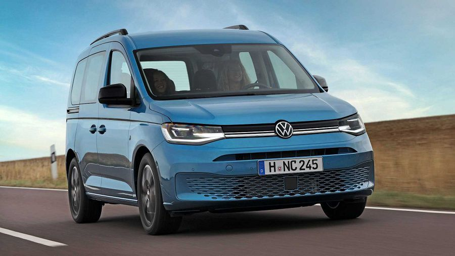 2021 VW Caddy California竟然具備了難以想像的露營機能擴充性