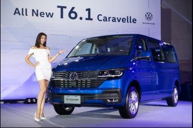 售價140.3萬元起 小改款在台發表 VW T6.1 Caravelle