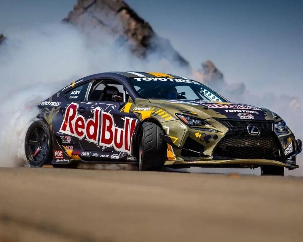 Lexus RC F甩尾比賽車現身 2JZ引擎1200hp大爆發
