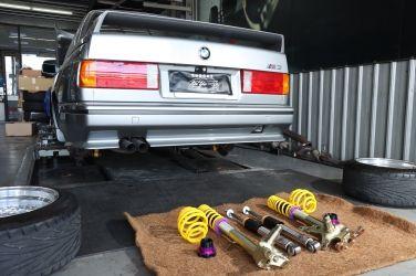 E30 M3老車也能用、德國KW Classic V3避震器