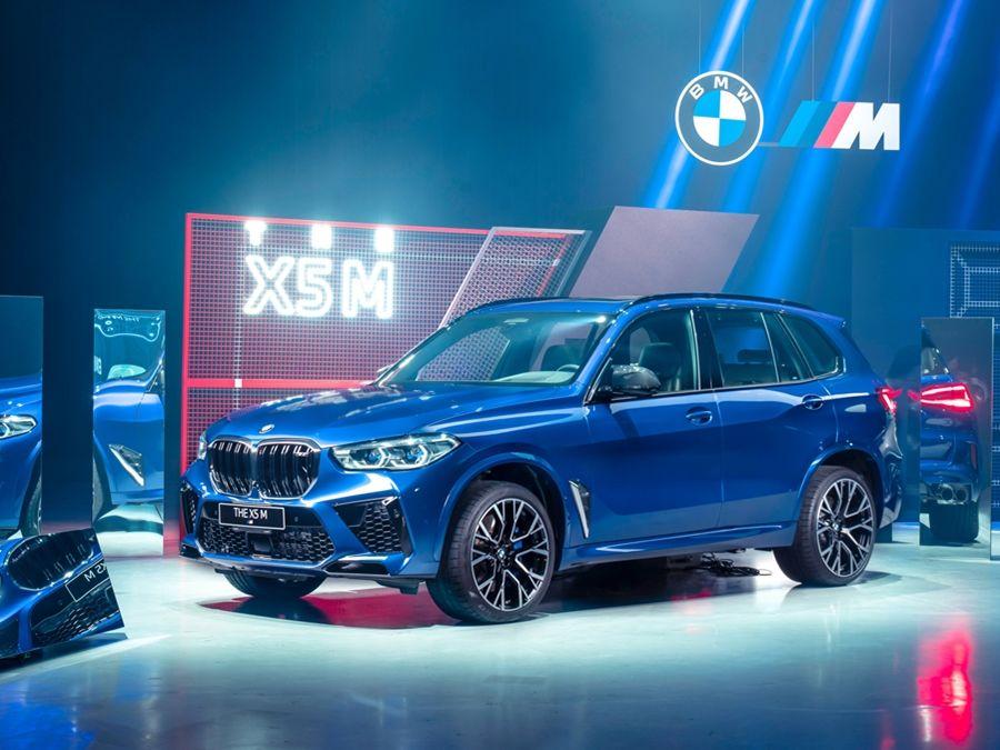 霸氣跑旅登場 全新世代BMW X5 M上市!