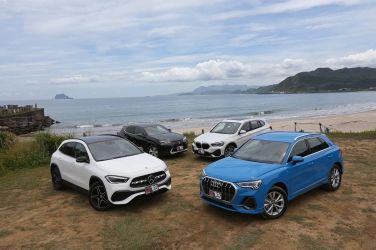 [集評] 新世代豪華敲門磚(上)Audi Q3 40 TFSI quattro S line vs. BMW X1 sDrive20i vs. Lexus UX 250h vs. Mercedes-Benz GLA 200
