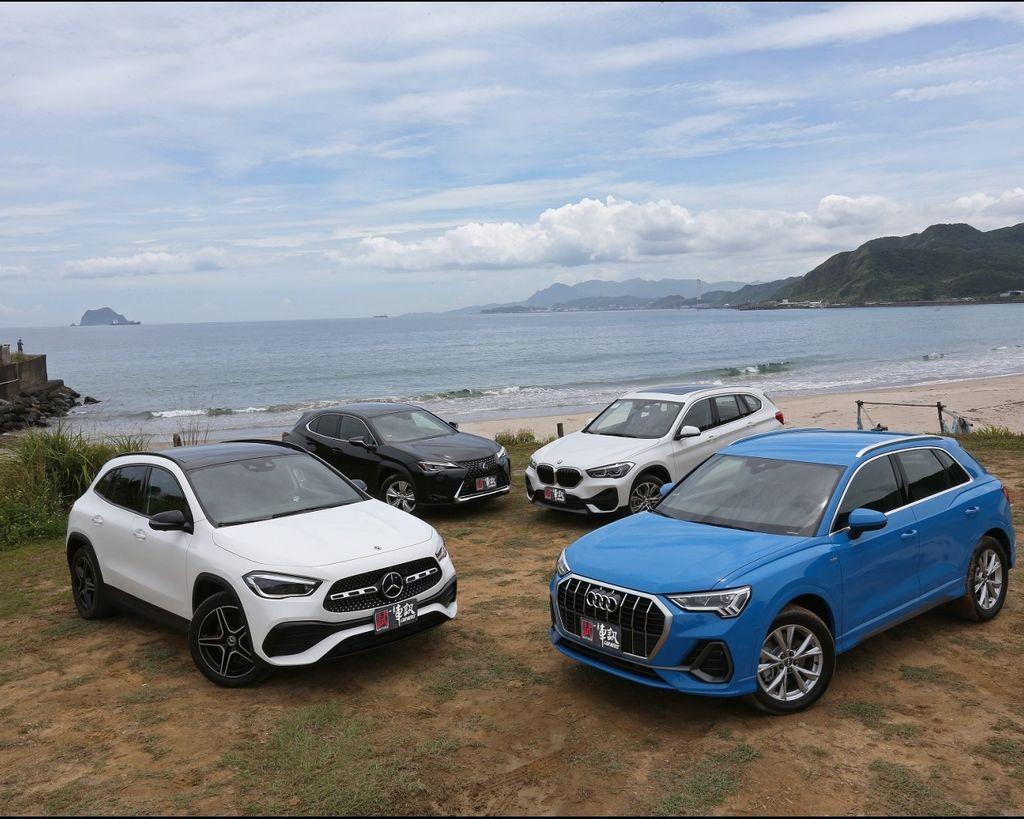 [集評] 新世代豪華敲門磚 Audi Q3 40 TFSI quattro S line vs. BMW X1 sDrive20i vs. Lexus UX 250h vs. Mercedes-Benz GLA 200