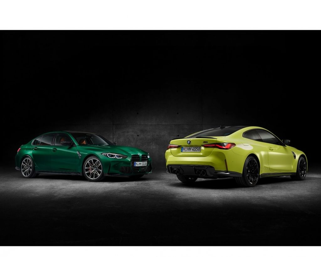過目難忘 BMW M3 Sedan & M4 Coupe