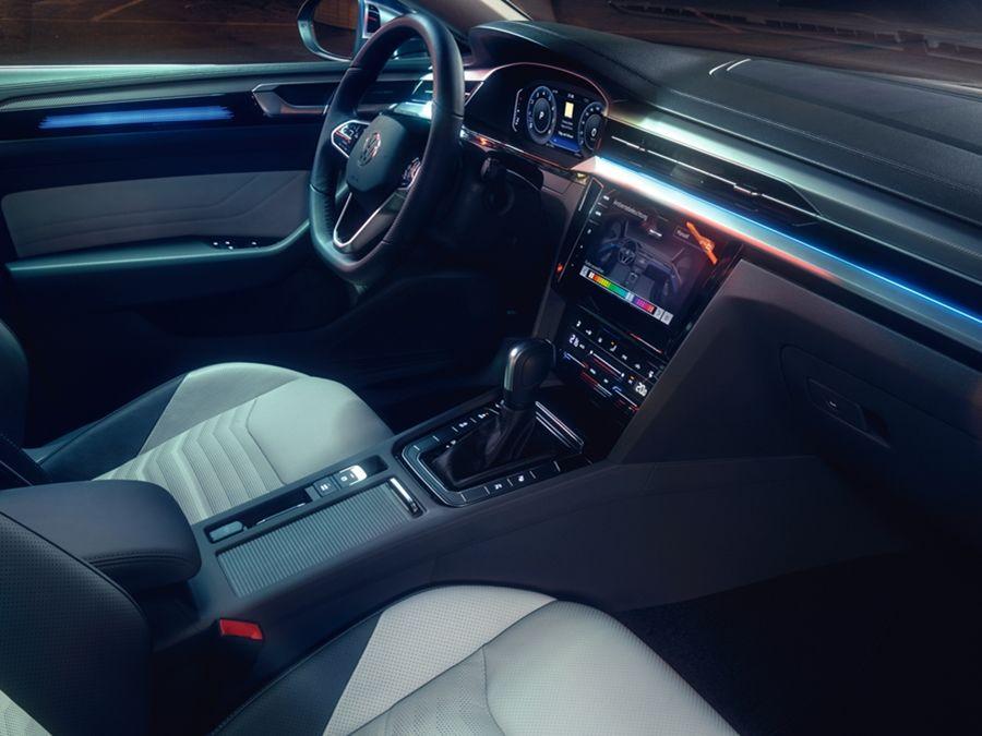 預窺VW全新品牌旗艦Arteon的優雅內裝