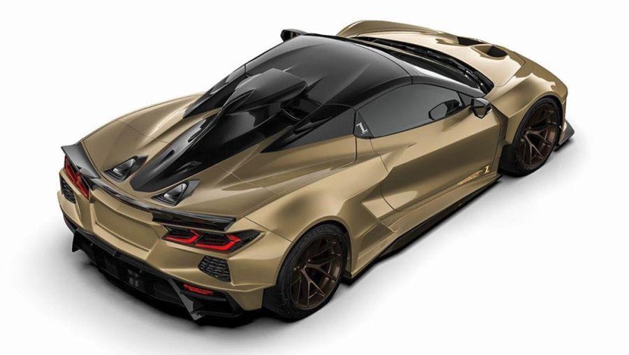 Competition Carbon寬體套件讓人有買輛C8 Corvette的衝動!