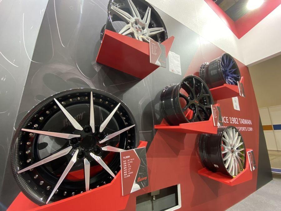 波力輪圈一路發! AMPA展示碳纖維複材汽車輪圈