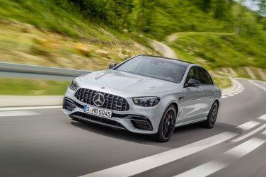 從容 馭動 全新Mercedes-AMG E 63 4MATIC+強悍登台