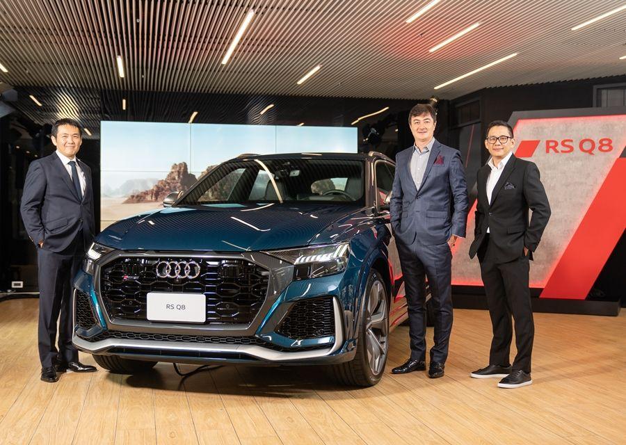 Audi RS Q8領軍 四環豪華休旅家族強勢襲台
