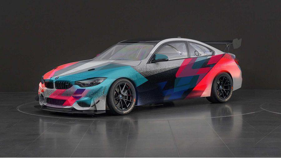 外表很重要!BMW M4 GT4賽車推出限量特殊彩繪版本
