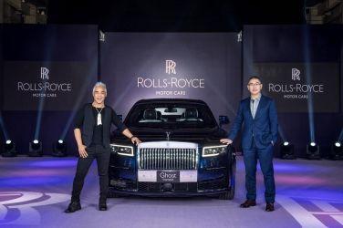 Rolls-Royce Motor Cars Media Information   勞斯萊斯全新GHOST台北盛大發表 展演全新品牌識別與簡約奢華的層峰形象