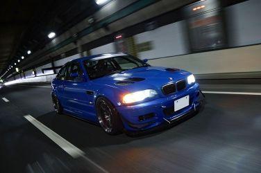充滿自我色的E46 M3!! 超級經典的土耳其藍