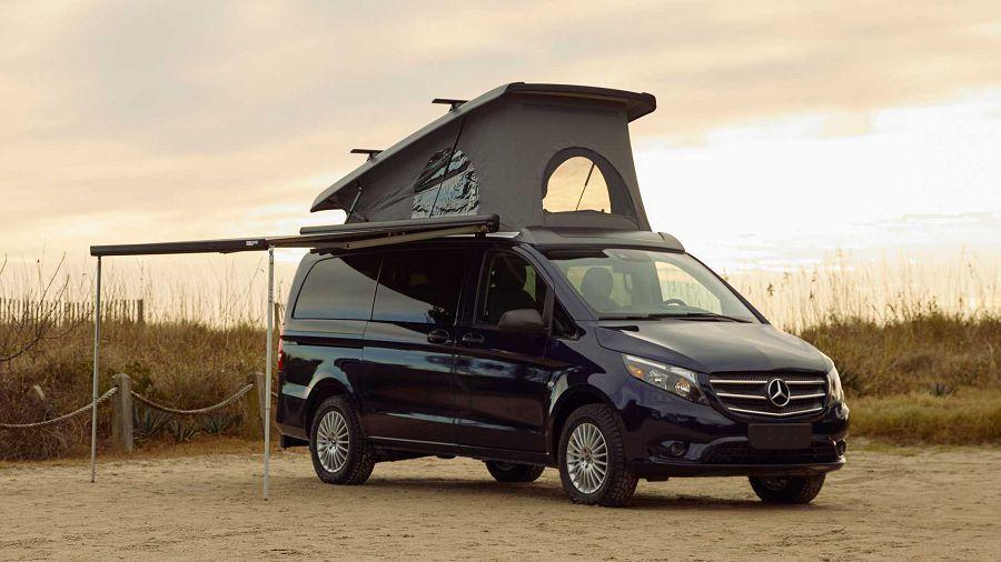 太熱門了!Mercedes 直接推出帶有上掀式車頂的 Metris Getaway 露營車