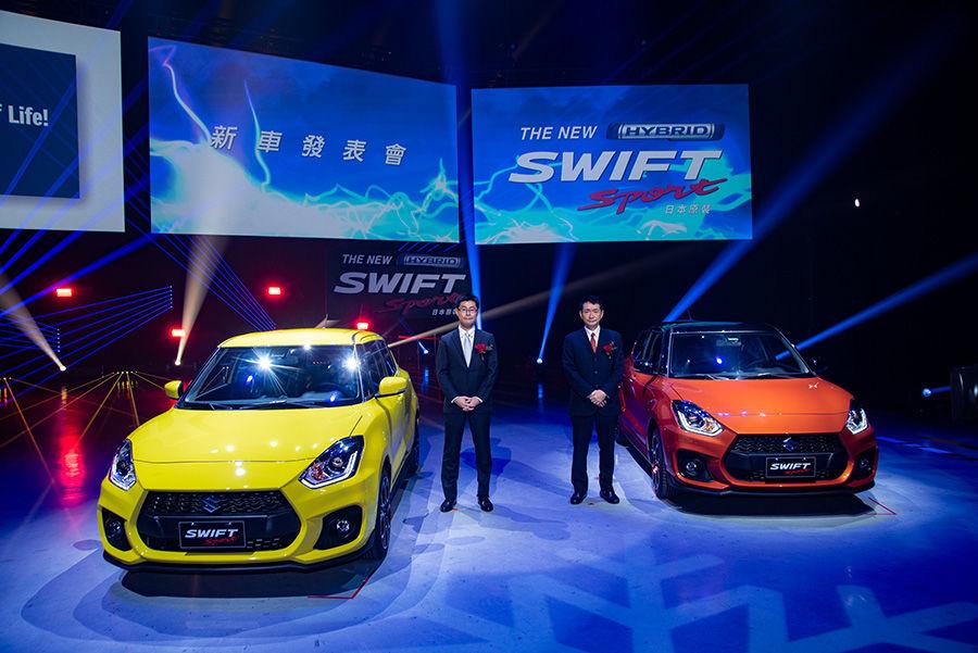 SUZUKI SWIFT導入輕油電!手排SWIFT Sport終於來了!