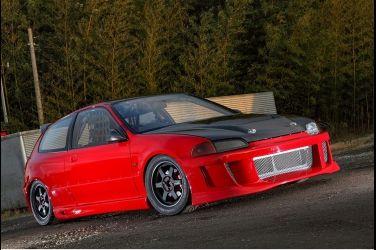 性能與美感的結合 本格派賽道規格Civic EG6