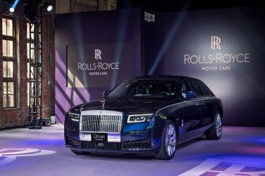 Rolls-Royce New Ghost 王者之劍10年再現