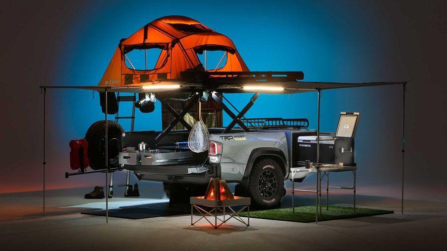 Toyota TRD Sport Trailer 打造的小小露營拖車能完全滿足所有的露營需求