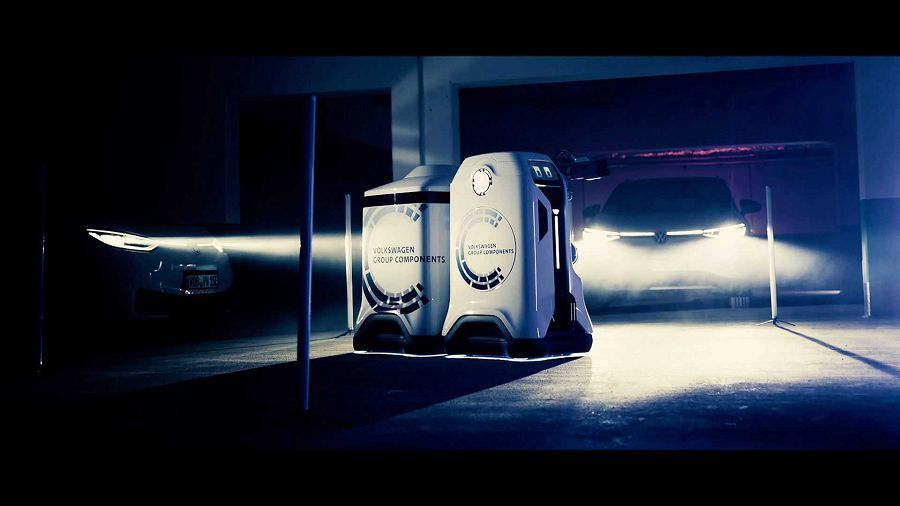 Volkswagen 帶來的行動充電機器人能否帶動電動車大幅成長呢?
