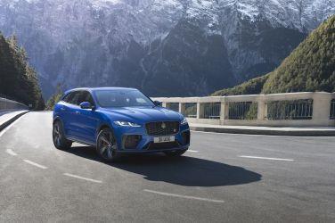 裡外更新 Jaguar F-Pace SVR